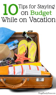 These are great tips for saving money while on vacation. It's not just about making a budget for your vacation. There's also tips on food and traveling. These 10 tips are sure to help you stay on budget while on vacation, I know they helped me. I like tip #10 the best since I often forget all about doing this and then regret it.