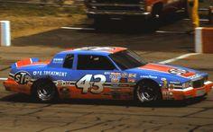 richard petty   43 Richard Petty 1984 Champion Spark Plug 400 @ Michigan