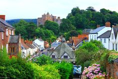 Dunster in Somerset - where I was married!  Dunster will always have a special place in my heart and I dream of returning!