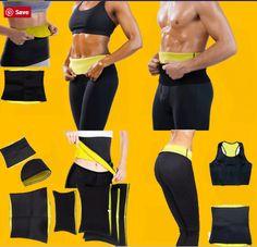 Chaos World Women Waist Trainer Trimmer Belt Hot Sweat Body Shaper Cincher Slimming Belt