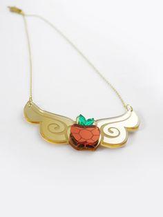Applejack  Element of Honesty Necklace by edenki on Etsy, $20.00