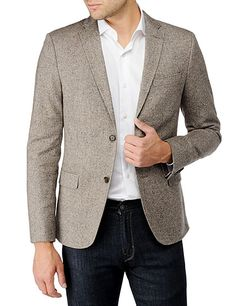 J. Lindeberg Hopper Soft Patch Tweed Blazer $330