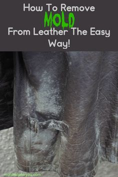 How to remove mold from leather the easy way! Tips on how to clean mold from a leather bag, how to clean a moldy leather baseball glove, how to remove. Clean Leather Purse, Leather Gloves, Leather Working, Leather Purses, Leather Bag, Cleaning Mold, Household Cleaning Tips, Cleaning Hacks, Sewing Leather
