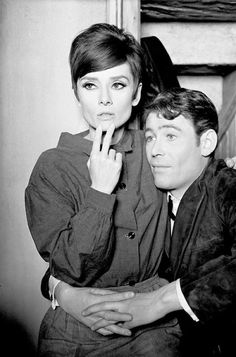 Audrey Hepburn and Peter O'Toole, 'How To Steal A Million' (1965)