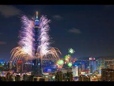 2012-2013 Midnight Fireworks   Taipei, Taiwan (Full Show) (HD)