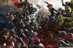 Avengers Age of Ultron (4K) HD desktop wallpaper : Widescreen