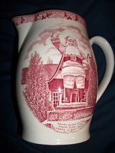 What is Old English Staffordshire pottery?