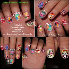 candy crush nails art