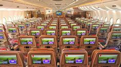 Des rangées de 10 sièges sont prévues pour cet A380.