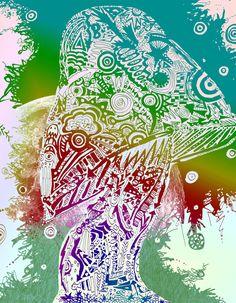 Trippy Art Drawings | trippy shrom by darkmistresskari digital art drawings paintings ...
