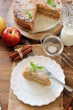 JABŁECZNIK Z KASZY MANNY  Jabłecznik z kaszy manny, bardziej znany jako szarlotka sypana to ciasto, które nieodłącznie kojarzy mi się...