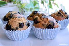 Blaubeeren Muffin Rezept für Hunde