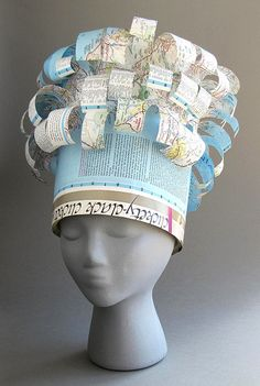 Hat Map | Examples of hats created by Aiko Lanier Cuneo. Hat… | Flickr