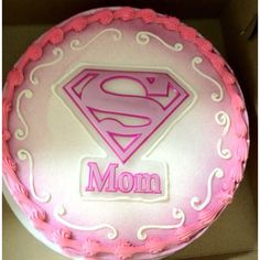 Supermom Cake. :-)