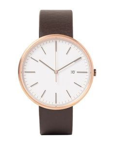Uniform Wares Wrist Watch In Cocoa Uniform Wares, Mens Designer Watches, Watch Case, Cocoa, Watches For Men, Quartz, Man Shop, Mens Fashion, Leather