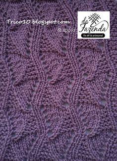 Tricô 10 - Knit & Purl: TRICOCIONÁRIO - AJ-0004