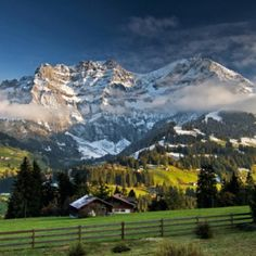 The Alps - Adelboden, Switzerland