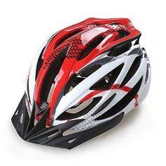 Gonex BMX MTB Road Bike Cycling Safety Adult Helmet black+red