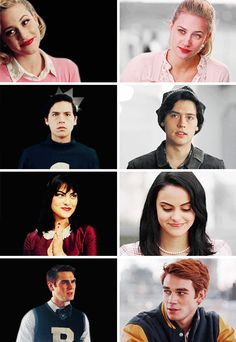 The Main Riverdale Four: Classic vs Modern