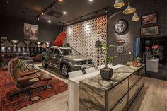 Dena Interiores : Garagem Integrada