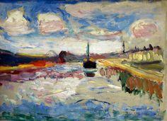 Henri Matisse - Canal du Midi, 1898