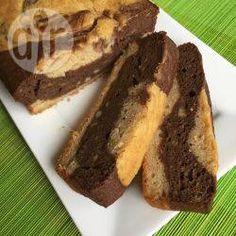 Bolo mesclado de banana com chocolate @ allrecipes.com.br