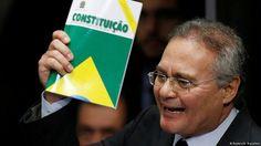 STF aceita denúncia e Renan se torna réu pela primeira vez   Brasil   DW.COM   01.12.2016