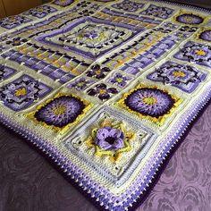 Ravelry: PrimroseJill's Demelza Blanket