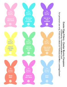 Free Printable Easter Coupons + 10 Frugal & Unique Ideas for Filling Easter Eggs Easter Games, Easter Activities, Easter Hunt, Easter Eggs, Easter Party, Easter Scavenger Hunt, Scavenger Hunts, Easter Crafts For Toddlers, Toddler Crafts