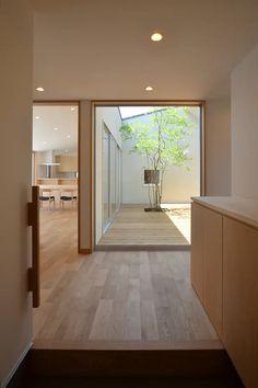 Japanese Modern House, Japanese Interior Design, Bedroom Minimalist, Minimalist Home, Minimalist Interior, Muji Home, Casa Patio, House Entrance, House Rooms