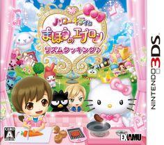 Hello Kitty to Mahou no Apron: Rhythm Cooking Box Front