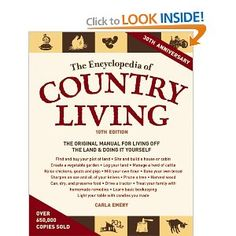 one of the most thorough homesteading books i've read...(and i've not read all of it)