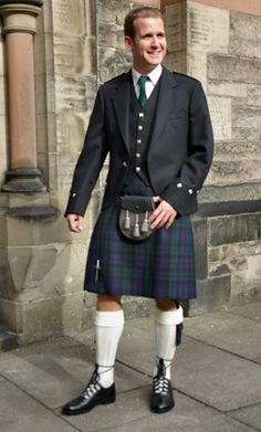 GREAT IDEA FOR YOUR GROOM....but would he dare to wear nothing underneath the kilt, as the tradition dictates? LOL...
