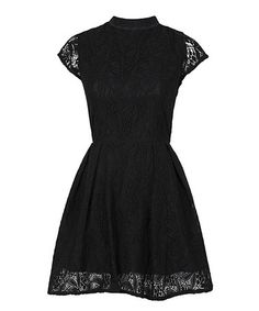 Loving this Black Lace Nichole Dress on #zulily! #zulilyfinds