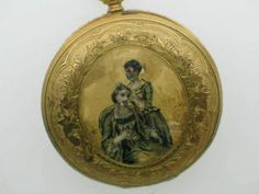 Pocket Watch French / Swiss Enamel Porc. Rare | Best Antique Watches