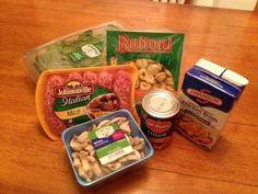 Sausage and Tortellini Crockpot Soup