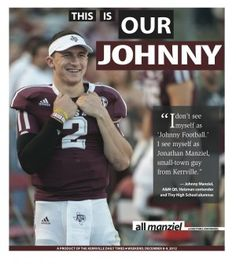 Heisman winner comes to Kerrville Saturday - Daily Times: Johnny Manziel - Heisman winner comes to Kerrville Saturday: Johnny Manziel
