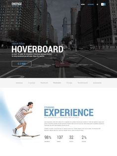 Onepage theme for business and startups [WordPress theme] Page Template, Templates, One Page Website, First Page, Premium Wordpress Themes, Startups, Minimalist Design, Layouts, Presentation