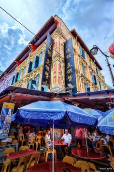 HDR Photo: Early afternoon in Chinatown, Singapore