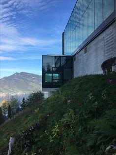 Buergenstock Alpine Spa with mount Rigi