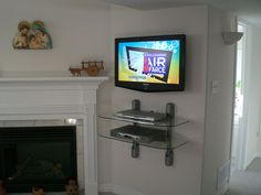 Wall Mount TV/DVD