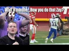 NFL player Zay Jones Floating back to his feet!?! How Zay??
