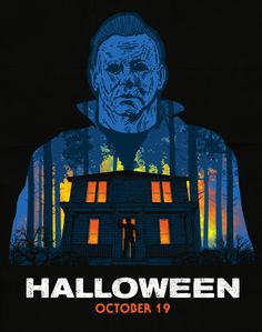 Halloween Horror Movies, Halloween Series, Scary Movies, Adult Halloween, Halloween 2018, Halloween Universal, Halloween Resurrection, Slasher Movies, Horror Artwork