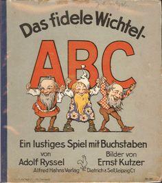 Ernst Kutzer - das liebte ich sehr. War z.T. zum ausmalen. Hab den Geruch der seiten und der Buntstifte noch in der Nase. Magische Momente!
