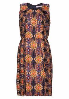 Matthew Williamson silk dress - multicoloured