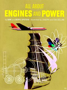 All About Engines and Power Book