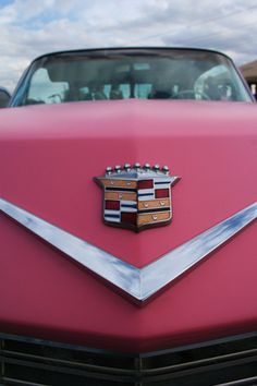 pink cadillac my kind of car totally says DIVA!!!