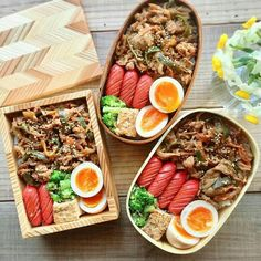 Sausage wiener, eggs, greens and rice Bento Recipes, Cooking Recipes, Healthy Recipes, Cute Food, Yummy Food, Eat This, Le Diner, Food Goals, Aesthetic Food