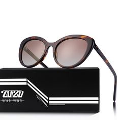 20/20 Brand Fashion Cat Eye Polarized Sunglasses Women Men Acetate Classic Sun Glasses Driving Unisex Eyewear Oculos AT8171   www.smilys-stores.com Polarized Sunglasses, Cat Eye Sunglasses, Sunglasses Women, Square Faces, Face Shapes, One Size Fits All, Fashion Brand, Eyewear, Unisex