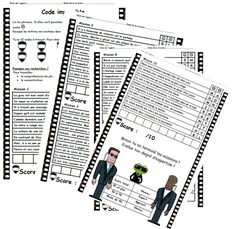 Mission impossible, lecture compréhension, phrase, possible, impossible, ce1 Comprehension Activities, Reading Strategies, Reading Comprehension, Read In French, Learn French, French Stuff, French Teacher, Teaching French, Reading Games
